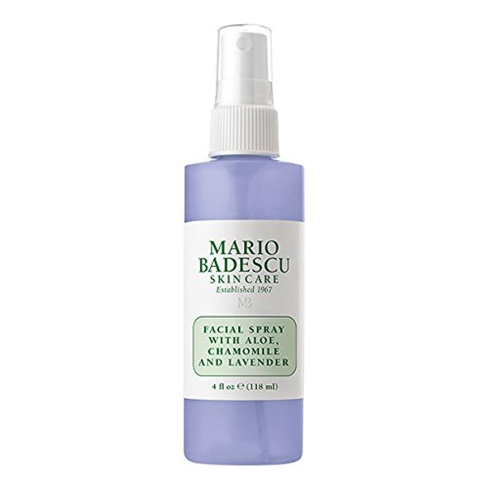 パノラマリフト軽食マリオ バデスク Facial Spray With Aloe, Chamomile & Lavender 118ml/4oz並行輸入品