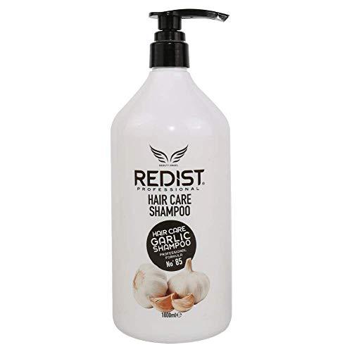 Professionelles Anti-Haarausfall-Shampoo mit Knoblauchextrakt Redist Professional Garlic Shampoo 1000ml.