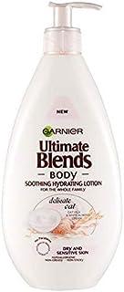 [Garnier ] 究極のブレンドオート麦ボディローション敏感肌用400ミリリットル - Ultimate Blends Oat Body Lotion Sensitive Skin 400ml [並行輸入品]