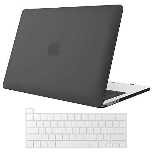 ProCase MacBook Pro 16 Case A2141 2019 Release with Keyboard Cover, Ultra Slim Protective Hard Case Shell Cover & Keyboard Skin for New MacBook Pro 16 Inch with Touch Bar and Touch ID –Black