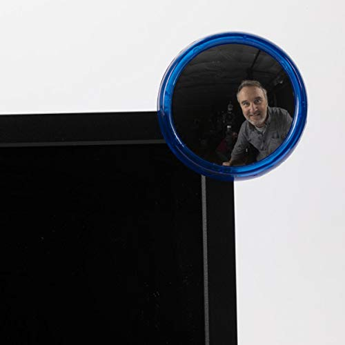 ComputerGear Office Cubicle Mirror Computer Rearview Mirror Rear View Monitor-4