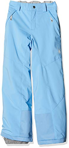 Spyder Mädchen Olympia Tailored Hose, Blue Ice, 164