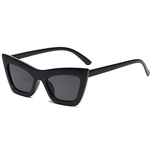 LUOXUEFEI Gafas De Sol Señoras Gafas De Sol Gafas De Sol Para Mujer Verde Negro Mujer Gafas