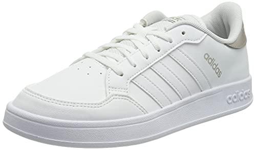 adidas Damen Breaknet Sneaker, Ftwbla Ftwbla Metcha, 42 2/3 EU
