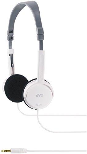 JVC HA L 50 W extraleichter Kopfhörer - faltbares Design weiß