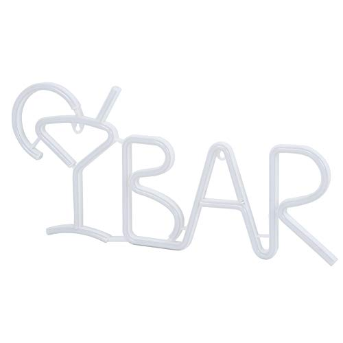 Oumefar Sicherheitsgarantie Led Lamp Bar Letter Shaped Dekorative Lichter Für die Dekoration Für die Party(Color)