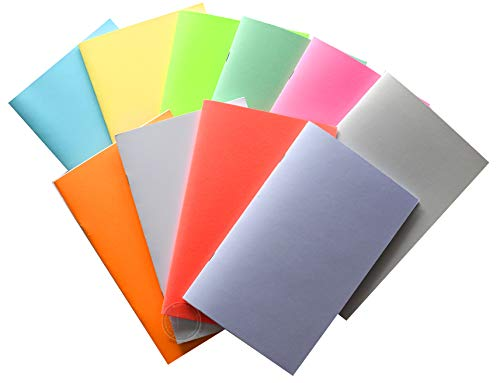 Paperback Blank Kid Books for kids to write stories - make your own comic book or flipbook, draw, illustrate, create small recipe, diary journals 32 pgs Unruled Unlined Premium White paper (20 books)