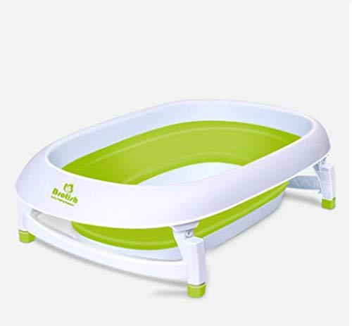 Les nouveau-nés se replient pour s'asseoir sur un baril de bain commun pour une utilisation intérieure/extérieure (Couleur : Large No. Green (gift pack))