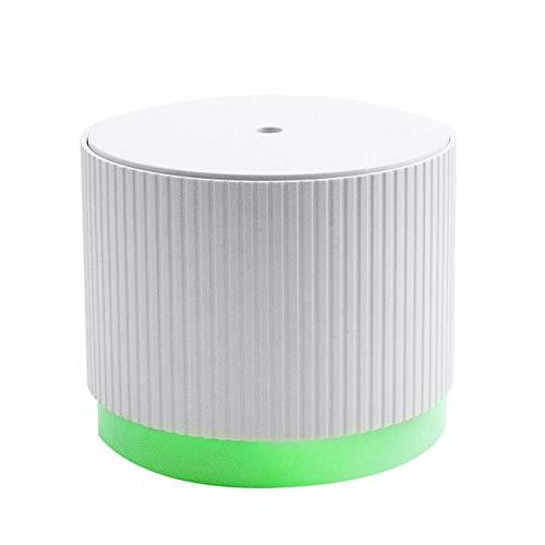MadebyZen NOVO Aroma-Diffusor mit Stimmungslicht, USB, Ultraschall, Aromatherapie, Weiß