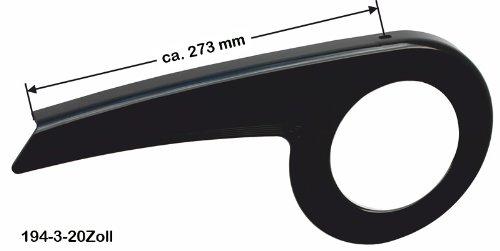 DEKAFORM Kettenschutz Easy Line 194-3 gekürzt für 20 Zoll * schwarz