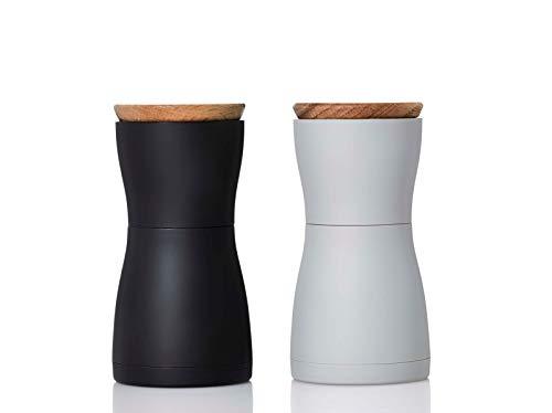 Adhoc Set Pfeffer- und Salzmühle TWIN - hocheffiziente Keramikmahlwerk CeraCut®