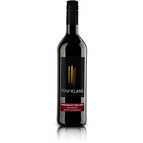 6 Flaschen Fünfklang Lemberger a 750ml Rotwein