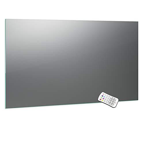 Spiegel ID Aurea design: LED badkamerspiegel met verlichting - op gewenste maat - Made in Germany selecteerbaar - Model: 2204502