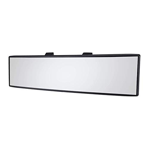Homyl 300 mm Universal Car Interior antirreflexo retrovisor retrovisor retrovisor panorâmico – O tamanho do espelho retrovisor é de 12 x 7,8 cm – Transparente