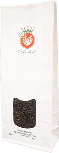 Goldenrod and Keemun Black Tea Loose Leaf Herbal Tea (50g Pack)