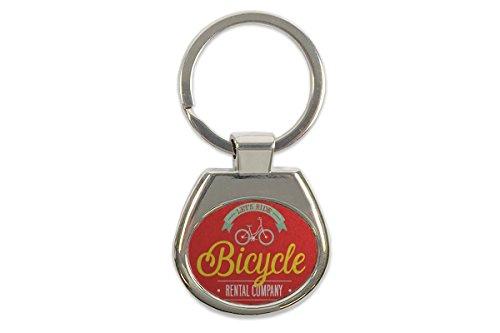 Schlüsselanhänger Sport Fahrrad Verleih Bedruckt