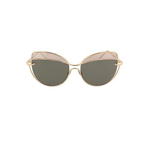 Pomellato Occhiali da sole PM0056S // 001-gold-black-grey