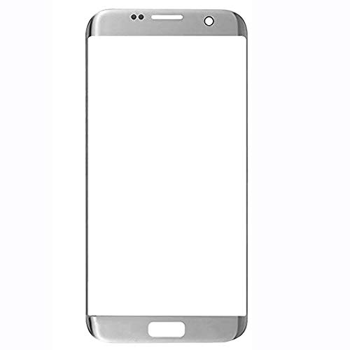 UU FIX Sostituzione Vetro Schermo per Original Samsung Galaxy S7 Edge (Argento)LCD Touch Screen Vetro Frontale Con Set di Attrezzi