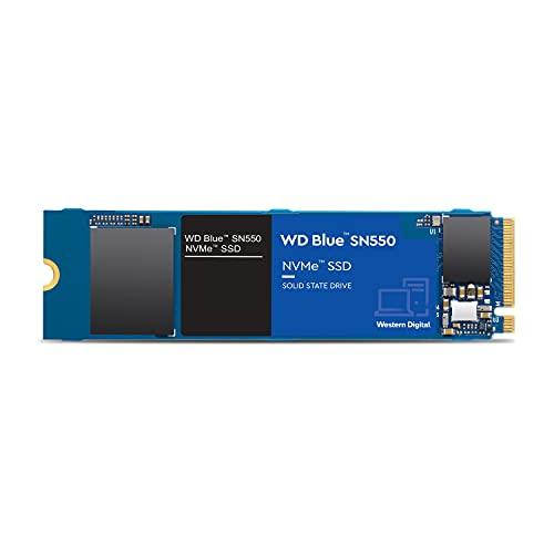 Western Digital Azul SN550 1 TB NVMe SSD, Gen3 x4 PCIe, M.2 2280, 3D NAND