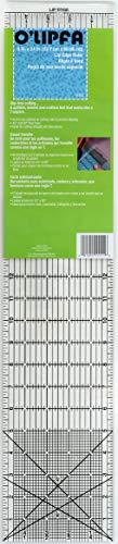 O'Lipfa 11111 Ruler with Lip Edge, 5 x 24-Inch