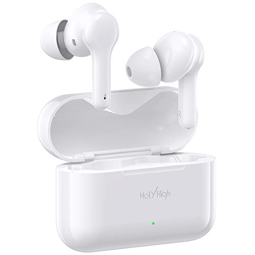 HolyHigh Auriculares Inalambricos, 【2020 Último Modelo】 Auriculares Bluetooth...