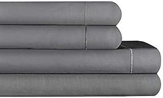 RENAURAA 1500 Thread Count Cotton Rich, 4 Piece Sheet Set, 16