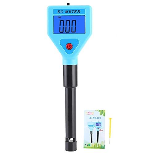 WJIN Agua Digital - Analizador Digital portátil de Calidad del Agua en línea Medidor de conductividad para acuarios Instrumento para Agua