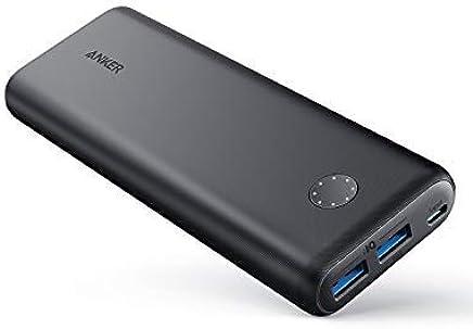 Anker Batterie Externe PowerCore II 20000 Batterie Portable Haute capacité avec 2ports USB (Output Max de 18W), Nouvelle Technologie PowerIQ 2.0 pour iPhone, Galaxy et Autres (Compatible QC3.0)