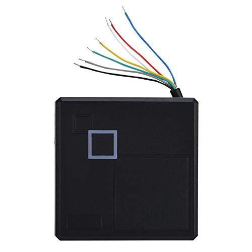 Topiky deurlezer voor toegangscontrole deur, 131yd stabiele gegevensoverdracht, waterdicht, sterk anti-interferentie hogesnelheidscontrolekaartlezer voor thuis, woning/veilig systeem, Mifare-ID
