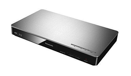Panasonic DMP-BDT185EG 3D Blu-ray Player (4K Upscaling, DLNA, VoD, HDMI-Steuerung, USB, MKV-Playback) silber & KabelDirekt - 4K HDMI Kabel - 1,5m - kompatibel mit - TOP Series