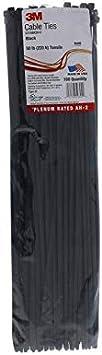 3M Bolsa Bridas para Exterior Scotchflex 3M FS 360 DWC C-C 7,5 x 360mm 100 un Negro