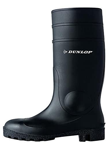 Dunlop Protective Footwear (DUO18) Dunlop Protomastor, Botas de Seguridad Unisex Adulto, Black, 40 EU