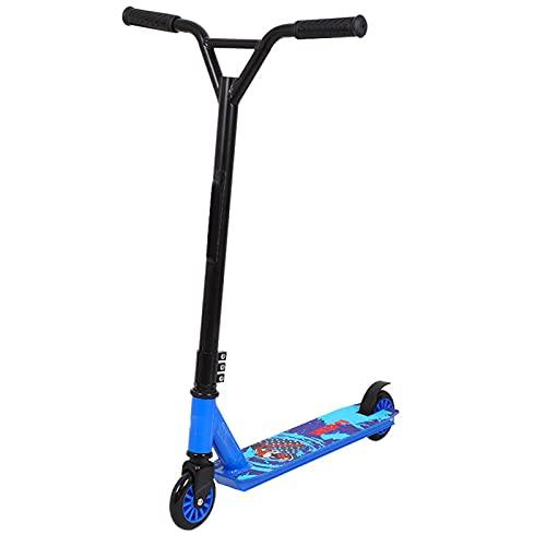 Truco Scooter Completo Truco Scooters de Aluminio Nivel de Entrada Estilo Libre Estilo Scooters Truco Scooter con Rendimiento Estable para niños 8 años y Arriba, niños, niñas, Adolescentes