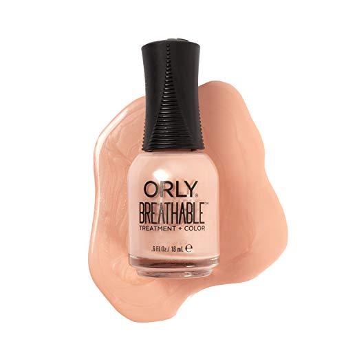 Orly Breathable Treatment & Nail Polish, Nudes, Inner Glow, 0.6 Fluid Ounce