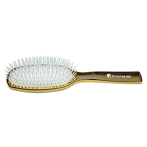 Haarbürste vergoldet 24 karat. Luxury Hair brush. 24-carat gold plating. 100% made in Italy.