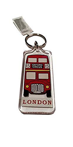 Classic Red Routemaster Bus Key Ring / Keyring / Key Chain S