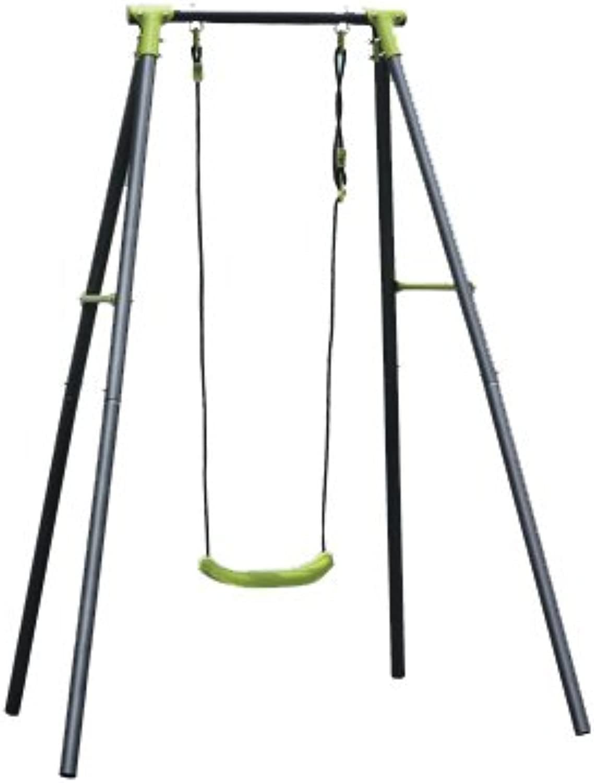 Kinderschaukel aus Stahl, mit 1 Schaukeln, für Auenbereiche