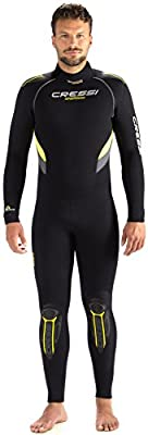 One-Piece Scuba Diving Full Wetsuit 5mm/7mm Durable Nylon II Neoprene, Men's and Ladies' | Castoro: designed in Italy