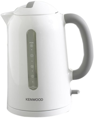 Kenwood JKP220 Hervidor Inalambrico, 2200 W, Plastico, Blanco