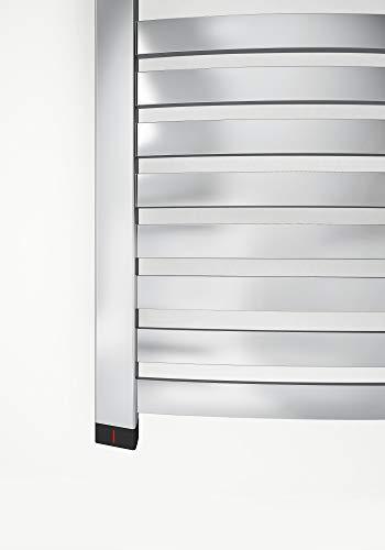 Radiador eléctrico Dexter con cartucho para calefactor integrado, en blanco, disponible en...