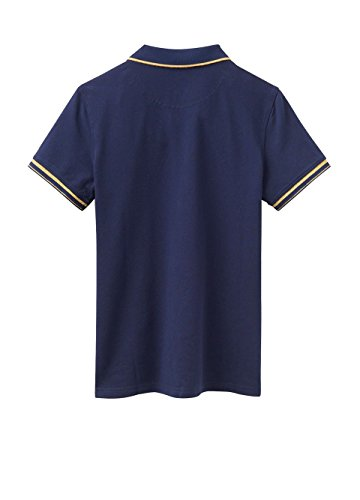 Joules Womens/Ladies Amity Lurex Tipped Sporty Polo Shirt