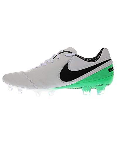 Nike - Performancetiempo Legend Vi FG - Scarpe da Calcetto con tacchetti - White/Black/Electro Green