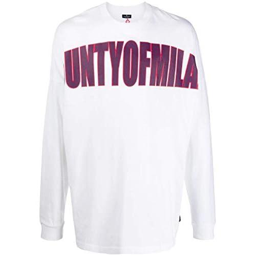 MARCELO BURLON Luxury Fashion Uomo CMAB036F1901101101A7 Bianco Cotone T-Shirt | Autunno-Inverno 19