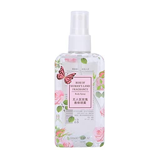 Perfume de fragancia ligera de 100 ml, Body Mist, portátil, refrescante, eliminación de olores, perfume floral, ligero, fragancia de rosas de primavera para mujeres
