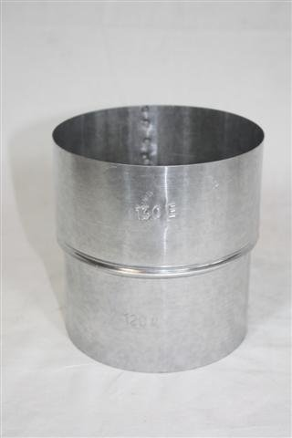 Rauchrohr, Ofenrohr Reduzierung FAL 120-100 ø 0,6mm stark