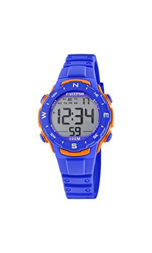 Calypso Reloj Digital para Unisex Adulto de Cuarzo con Correa en Plstico K5801/3
