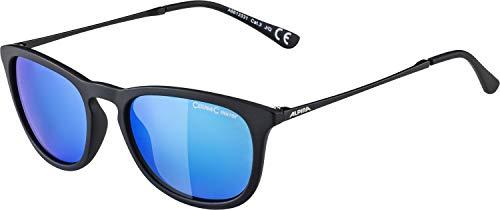 ALPINA Unisex - Erwachsene, ZARYN Sonnenbrille, black matt, One size