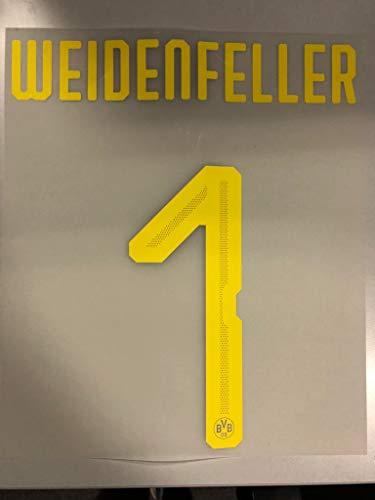 Flock Original BVB Borussia Dortmund Trikot 25cm - WEIDENFELLER 1