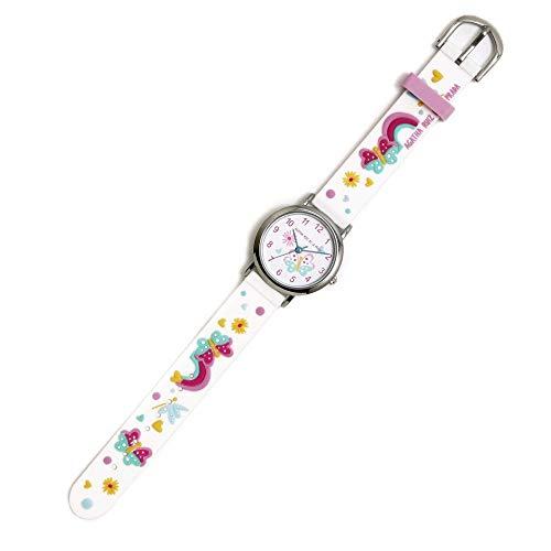Agatha Ruiz de la Prada Reloj para Niño Analógico Cuarzo japonés con Correa de Silicona AGR294