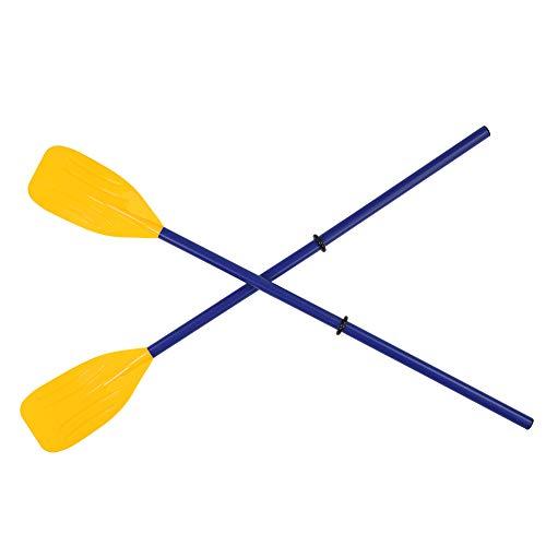 FECAMOS Remo de Remo para Kayak, Remo de Canoa para Kayak Desmontable, Remo para Bote Inflable, Remo para Kayak para Bote Inflable, Canoa para Bote de Pesca